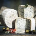 Blue Cave Aged Goat Cheese From Swiss Villa